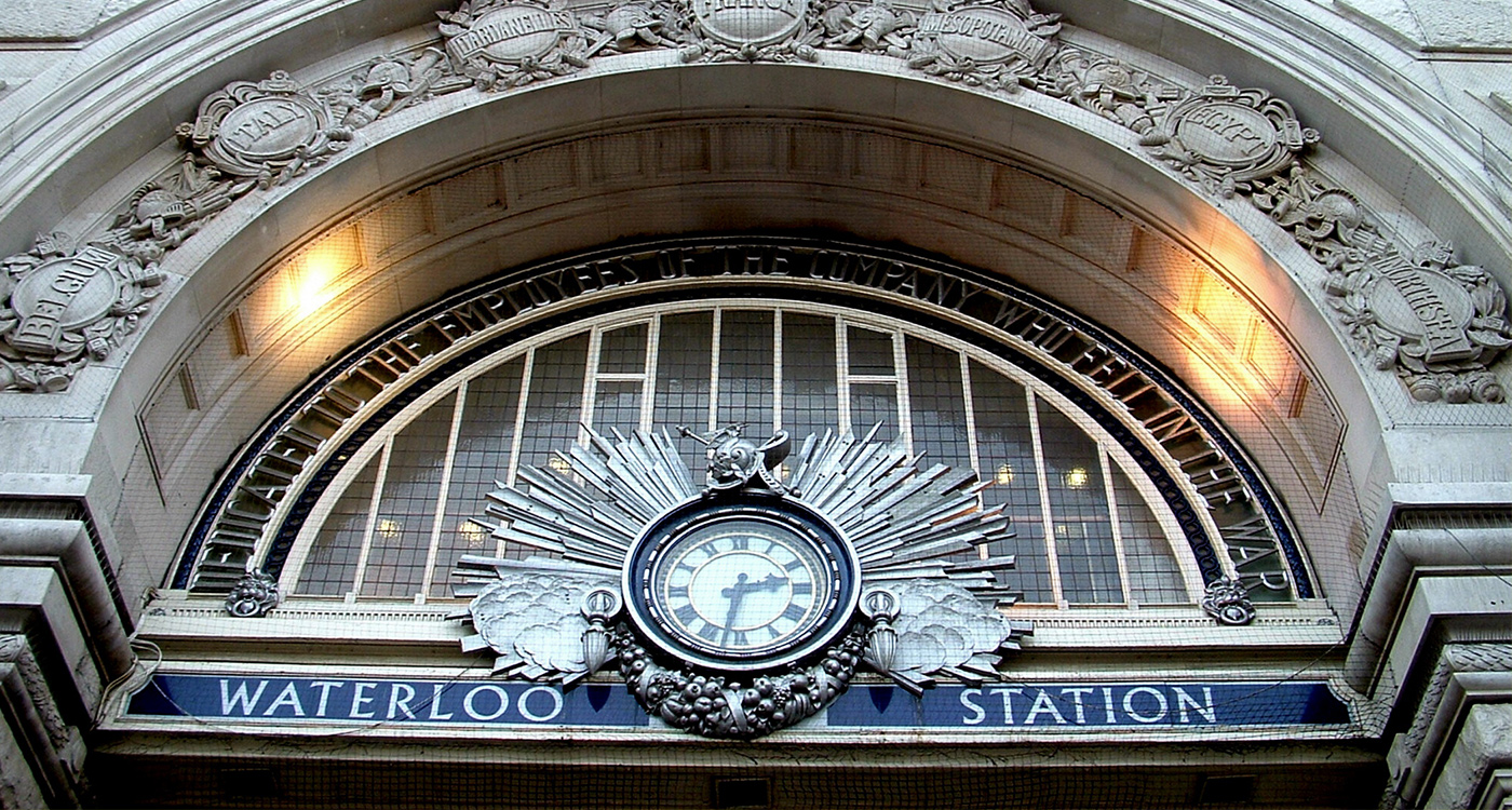 Waterloo Station delays