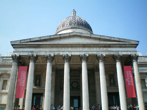 London - National Gallery parking
