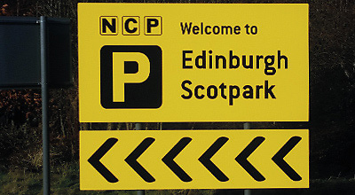 Edinburgh Scotpark Airport car park