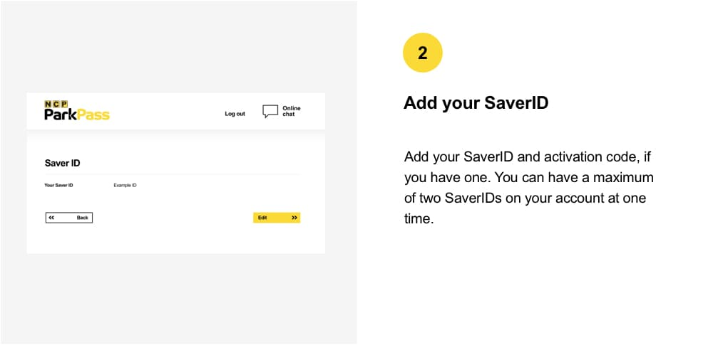 SaverID Existing Web2