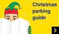 Christmas parking guide