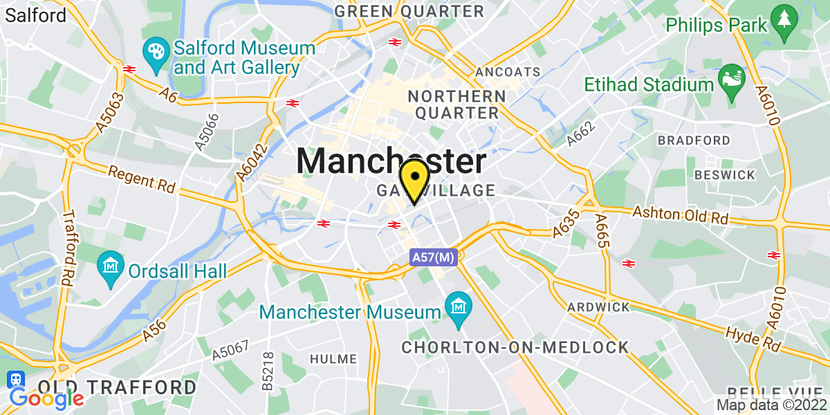Map of Manchester Palace