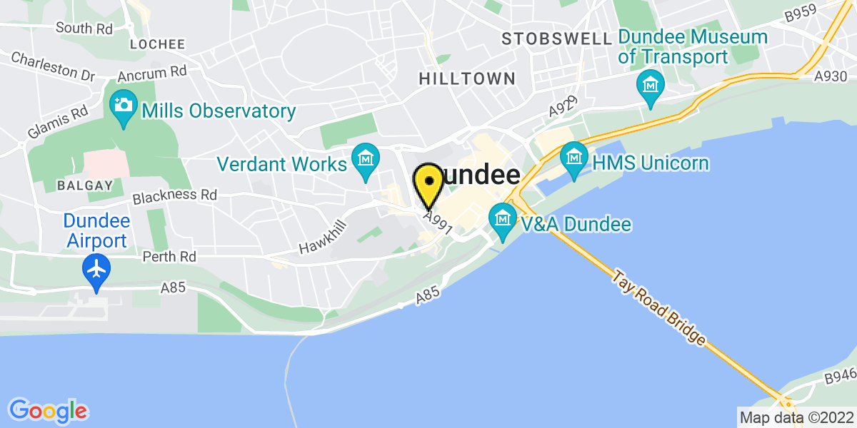 Map of Dundee Marketgait