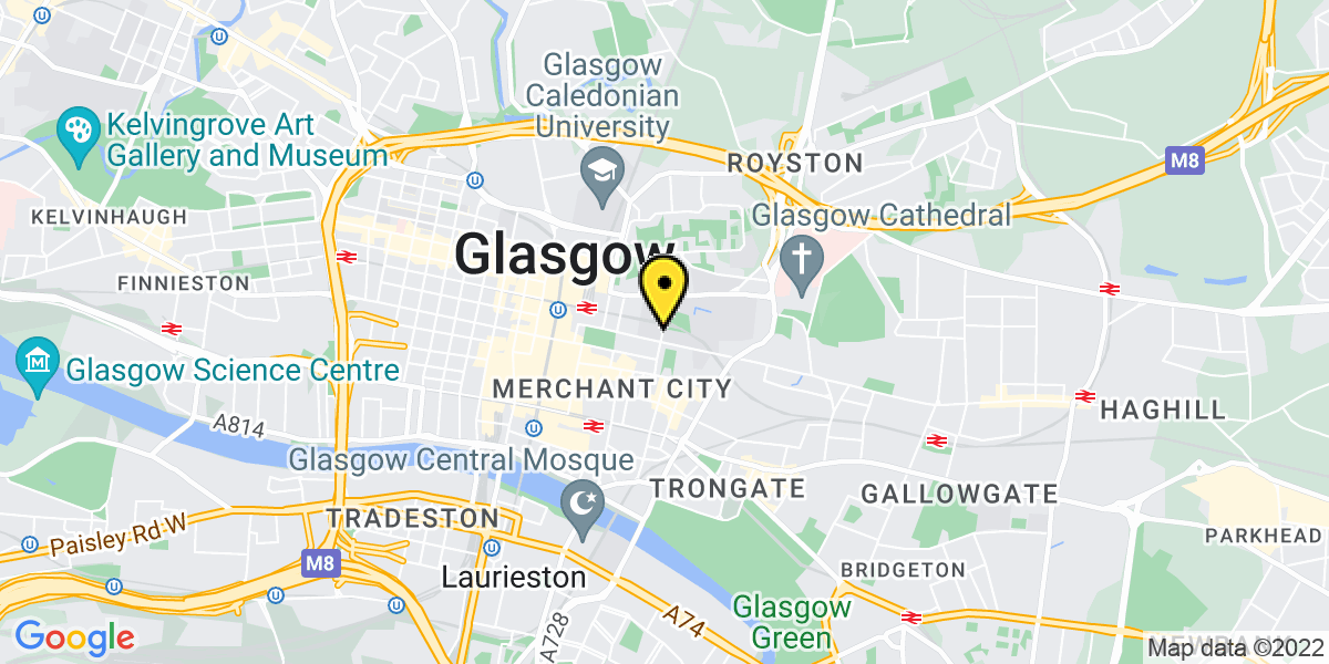 Map of Glasgow George Street