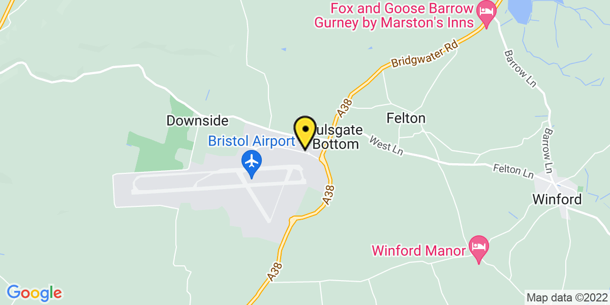 Map of Bristol Airport Long Stay Car Park 1