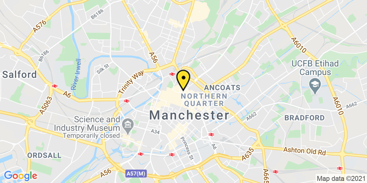 Map of Manchester Arndale