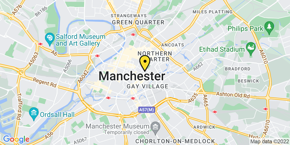 Map of Manchester Piccadilly Plaza